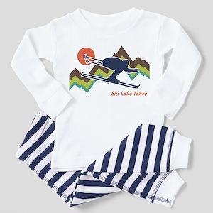 Ski Lake Tahoe Toddler Pajamas