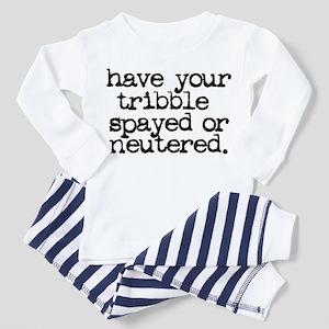 Star Trek / Tribble Toddler Pajamas