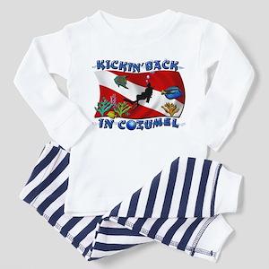 Generic Dive Flag Pocket Toddler Pajamas