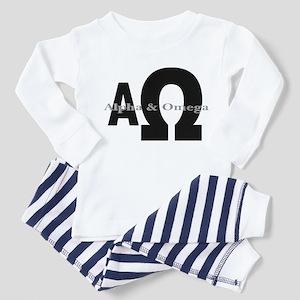 Alpha & Omega Toddler Pajamas