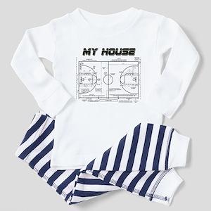 Basketball House Toddler Pajamas