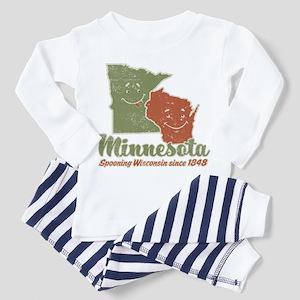 MN: Spooning WI Toddler Pajamas
