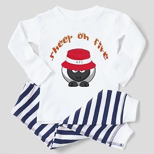 Sheep On Fire Pajamas