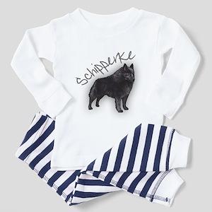 Schipperke 1 Toddler Pajamas