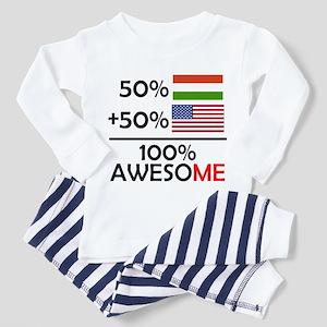 Half Hungarian Half American Pajamas