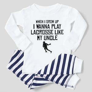 Play Lacrosse Like My Uncle Pajamas