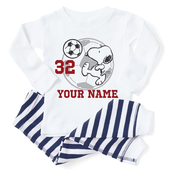 Snoopy Soccer Personalized
