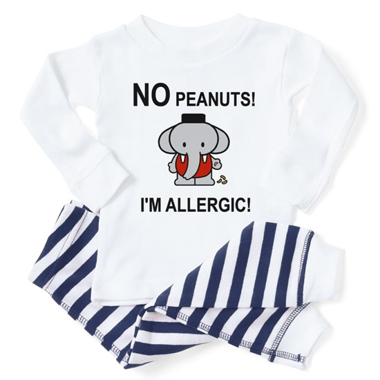 NO PEANUTS I'M ALLERGIC