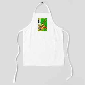 Musical Background Kids Apron