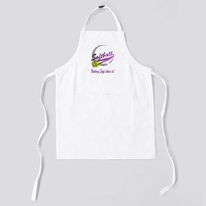 Nothing soft about it(blk) Kids Apron