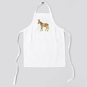 Flower Donkey Kids Apron