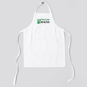 frogs23 Kids Apron