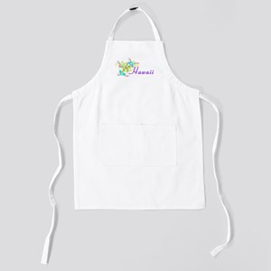 flowery accent-hawaii Kids Apron