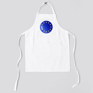 EU Button Kids Apron