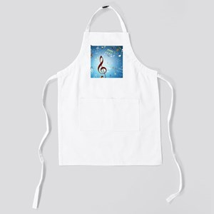 Musical Notes Kids Apron