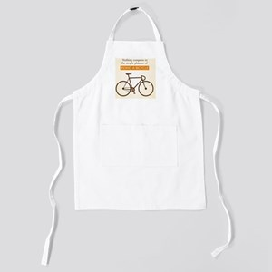 The Pleasure Of Riding A Bicycle Kids Apron