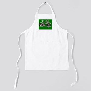 Ditch the Car Ride A Bicycle Green 4She Kids Apron