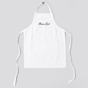 Flower Girl Kids Apron