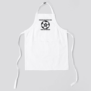 PERSONALIZED Soccer Ball Kids Apron
