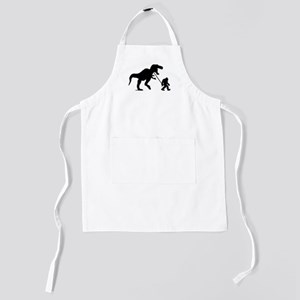 Gone Squatchin with T-rex Kids Apron