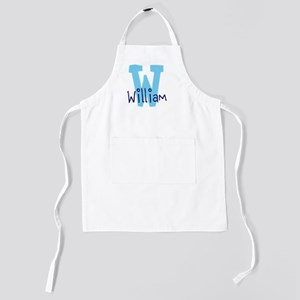 Monogram and Initial Kids Apron