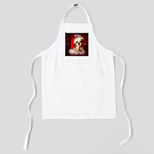 CKCS merry christmas Kids Apron