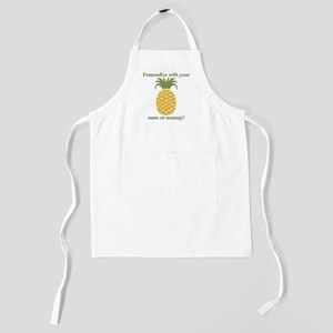 PERSONALIZED Pineapple Kids Apron