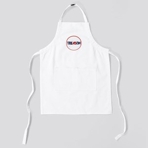traitor, 45 not my president Kids Apron