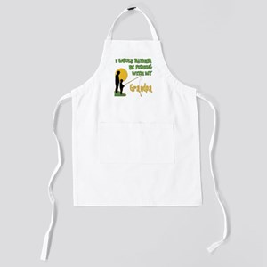 Fishing With Grandpa copy Kids Apron