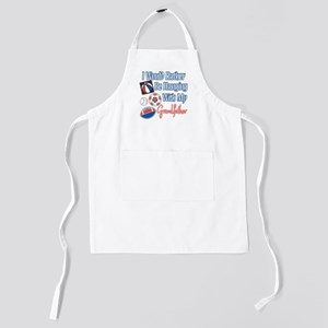 Hanging With Grandfather Kids Apron