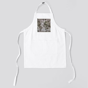 Vintage Map Kids Apron