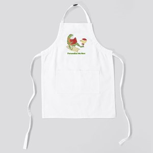 Personalized Frog Kids Apron