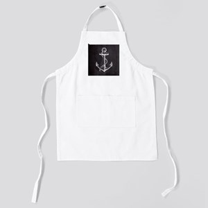 nautical rustic chalkboard anchor Kids Apron