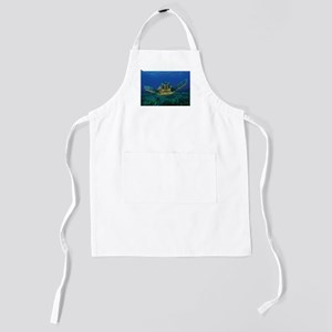 Turtle Swimming Kids Apron