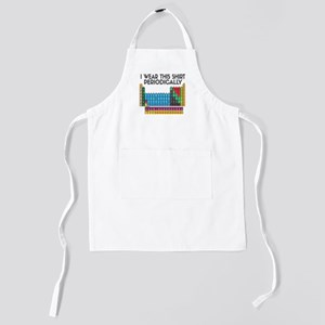 I Wear This Shirt Periodically Kids Apron