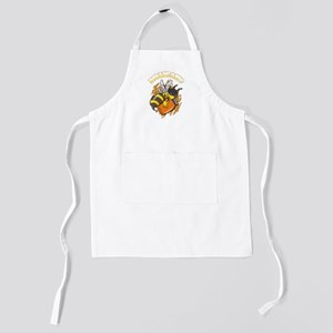 Funny Robber Bee Kids Apron