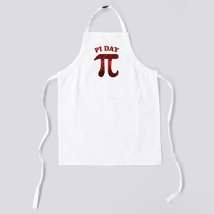 Pi Day Red Kids Apron