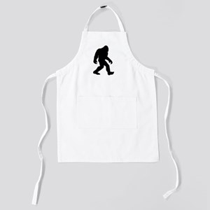 Bigfoot Silhouette Kids Apron