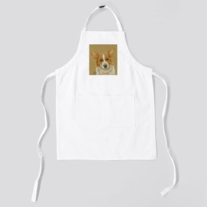 Welsh Corgi Kids Apron