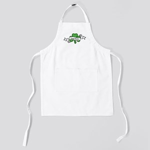 Shamrock CUSTOM TEXT Kids Apron