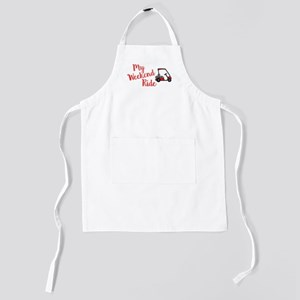 Funny Golf Cart Graphic - My Weekend Ri Kids Apron