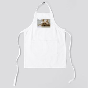 Yorkshire Terrier laying flat Kids Apron