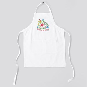 Snoopyu - Spring is in the Air Kids Apron