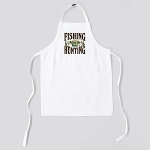 Fihsing Hunting Kids Apron