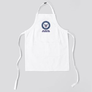 US Navy Symbol Personalized Kids Apron