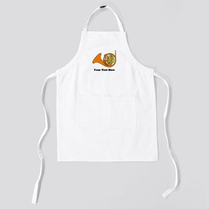 French Horn Personalized Kids Apron