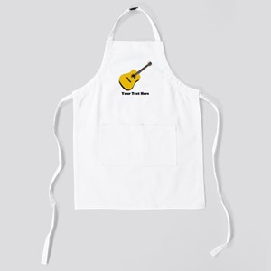 Acoustic Guitar Personalized Kids Apron