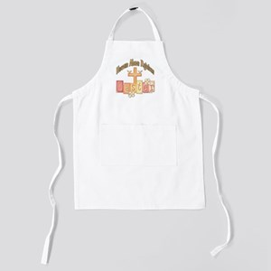 heastercrossrejoices copy Kids Apron