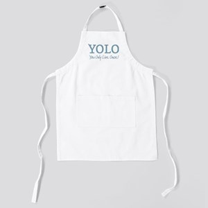 YOLO You Only Live Once Kids Apron