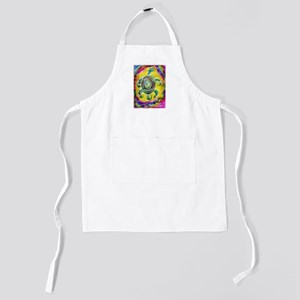 Abstract Turtle Kids Apron